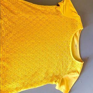 Laura Scott Yellow top with bling